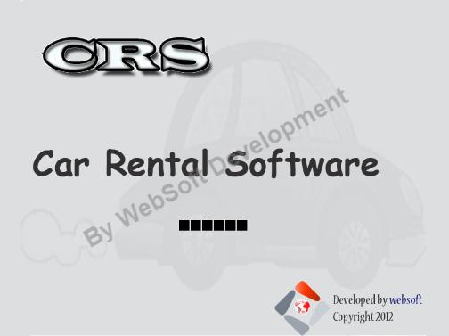 Fonctionnalités Car Rental Software