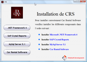Interface CRS